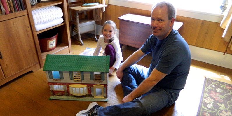 Macho Men Play with Dollhouses