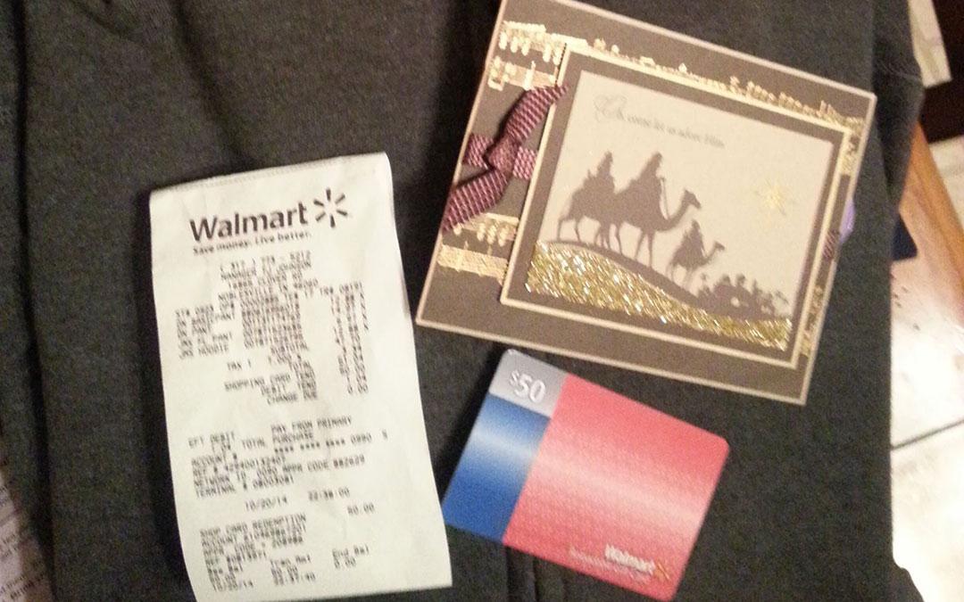 Walmart Christmas Miracle